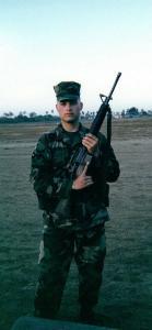 On Edson Range; Camp Pendleton, CA; 2001