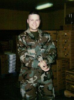 In the Storeroom; MCRD; #569; 2001